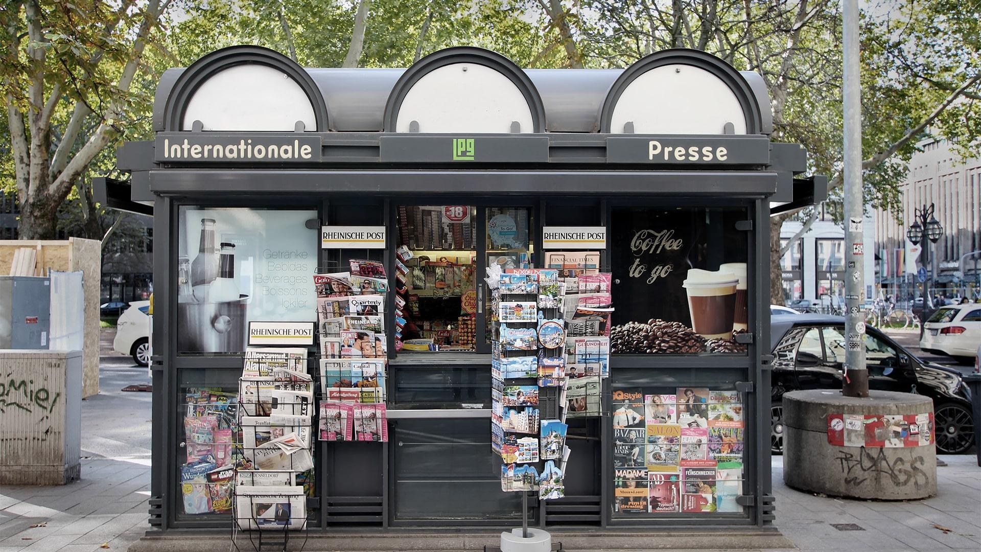 Büdchen, Trinkhallen, Kioske: Außergewöhnliche Konzepte deutscher Kioskkultur